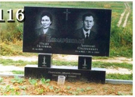 Надгробные памятники Горловка